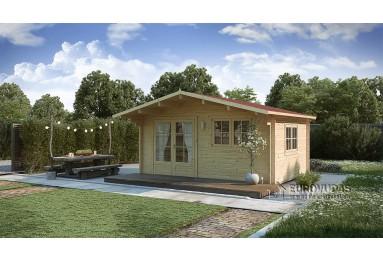 *Szybka dostawa* Domek drewniany Monaco Plus 12m² (4x3m), 44mm