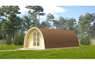Domek  drewniany POD 4x7 m, 44 mm