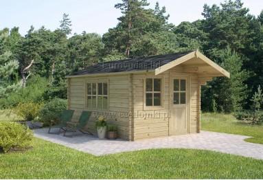 Domek ogrodowy drewniany Faro 9m² (3x3m), 44mm