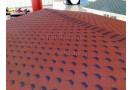Gont bitumiczny sześciokątny Hexham czerwony