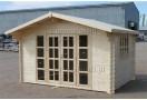 Domek drewniany Brighton 9m² (3x3m), 44mm